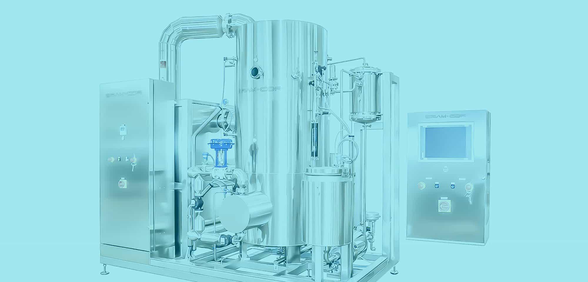 Bram-Cor STMC Vapor Compression Distiller