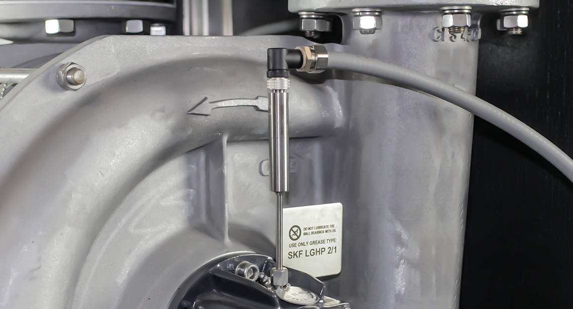 STMC Vapor Compression Distiller - Blower detail